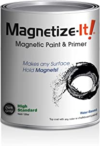 Magnetize-It! Magnetic Paint & Primer - High Standard Yield 32oz, MIHYD-1547