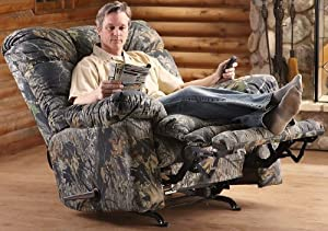 catnapper magnum recliner chair mossy oak kitchen - Catnapper Recliner