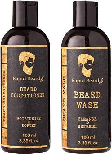 Beard Shampoo Conditioner Wash Growth