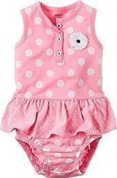 Baby Girls Polka Dot Sunsuit