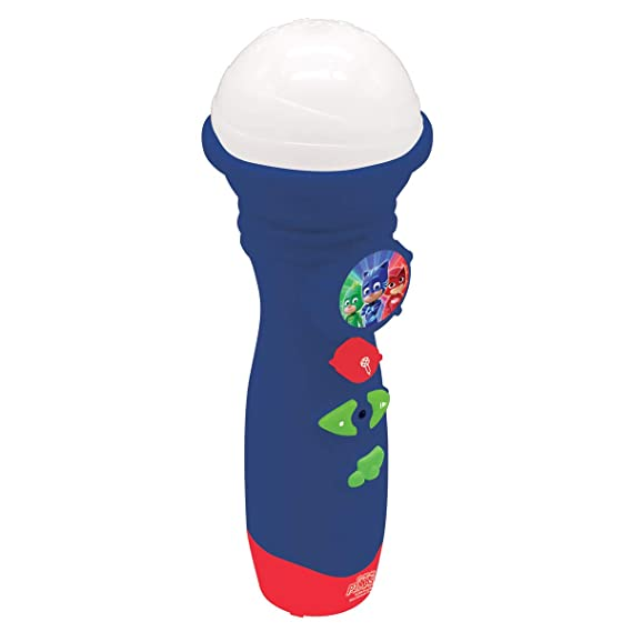 Pj Mask PJ Masks Micrófono de Juguete Luminoso Color Azul Lexibook MIC50PJM: Amazon.es: Juguetes y juegos