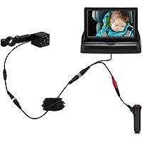 Riiai Baby Car Seat View Rear Camera 360 Adjustable Baby Car Mirror Facing Infant Infrared Night Vision Camera Baby…