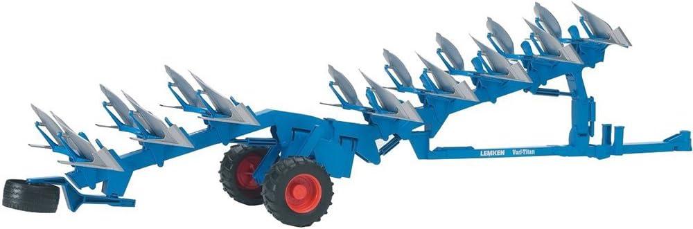 BRUDER 02250 Charrue reversible LEMKEN Vari Titan Bleue