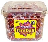 Atomic Fireballs Cinnamon Hard Candy, 40.5 Ounce Tub Review