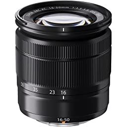 Fujifilm XC 16-50mm F3.5-5.6 OIS Zoom Camera Lens, Black