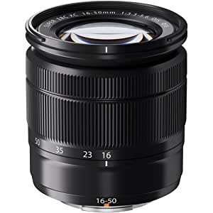 Fujifilm XC 16-50mm F3.5-5.6 OIS Zoom Camera Lens, Black