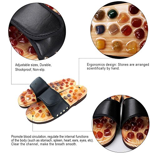 m Chanclas para Agate Dire wolves mujer black m Pebble black OqEY5w