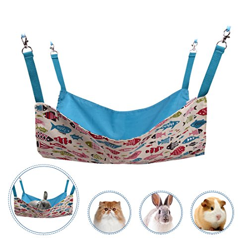 cat hammocks bed use with cage or chair reversible 2 sides small pet hammock for cat hammocks bed use with cage or chair reversible 2 sides small      rh   fyihotdeals