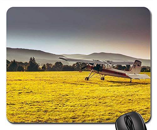 Mouse Pad - Czech Republic Mountains Landscape Airplane Plane