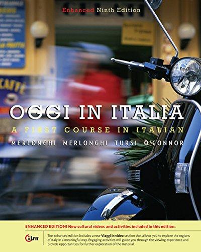 Bundle: Oggi In Italia, Enhanced, 9th + Student Activities Manual