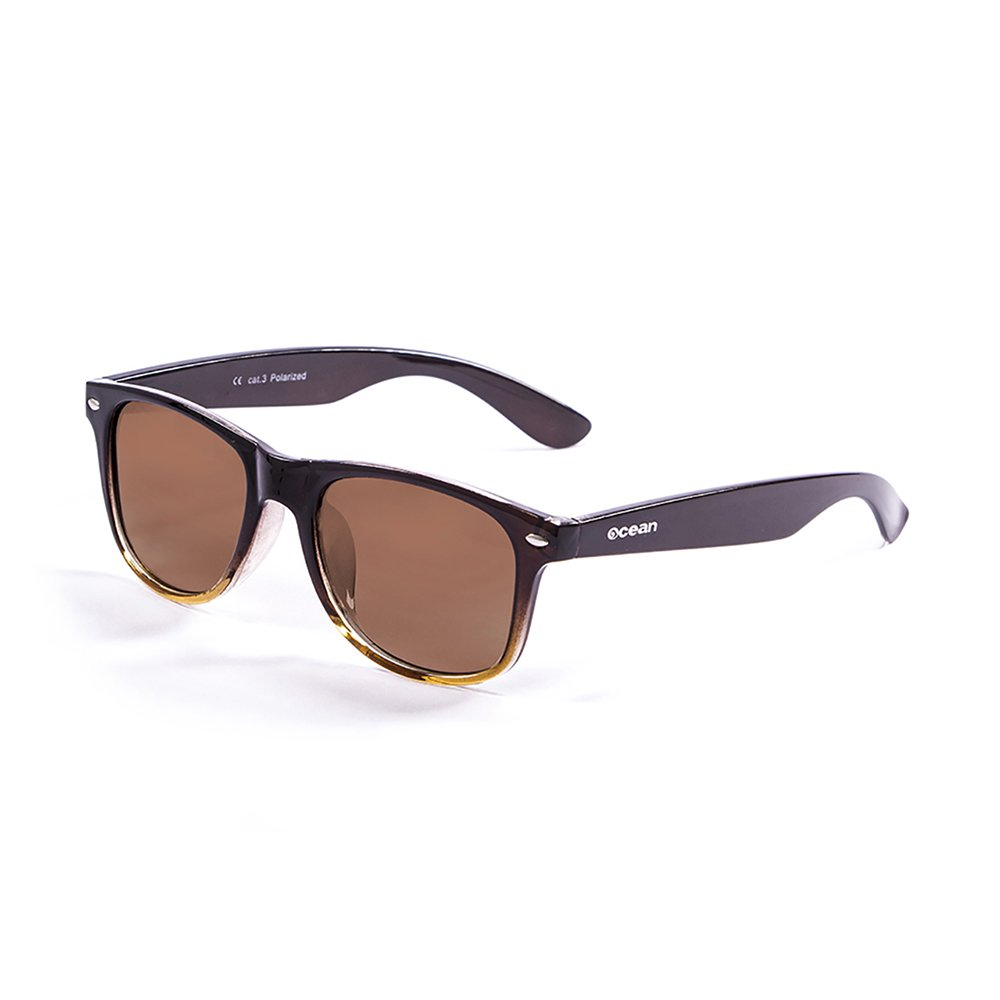 Ocean Sunglasses Beach Lunettes de soleil Bleu Foncé/Demy Marron/Smoke erGFfr