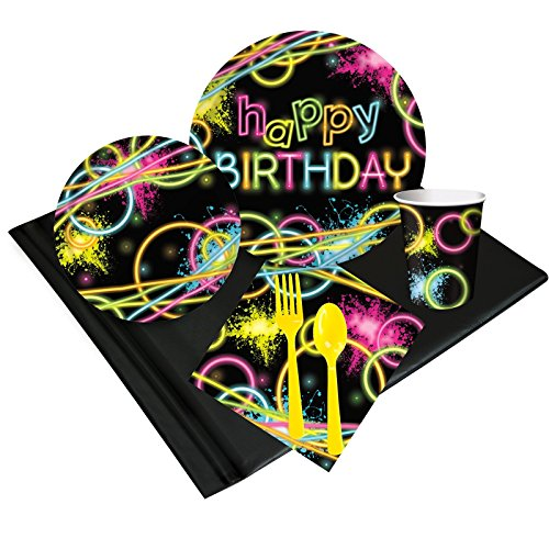 Glow Party Pack (Glow In The Dark Napkins)