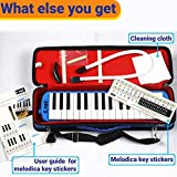 QMG Melodica 32 Keys with Piano Stickers, Hard