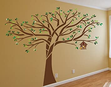 Exceptionnel Beautiful Large Tree Wall Decal Deco Art Sticker Mural   7.5 Ft. Tall X 10