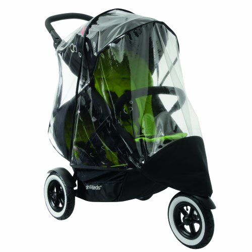 Phil And Teds Double Pram Rain Cover - 6
