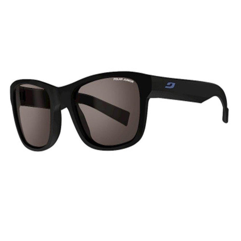 Julbo Reach L Sunglasses: Matte Black with Polar Junior Lenses 10-15 Years