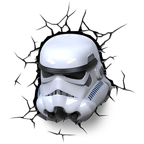 3DLightFX Star Wars Stormtrooper 3D Deco Light -