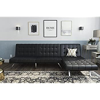 Amazon.com: Best Choice Products 3-Seat L-Shape Tufted Faux ...