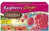 Cheap Celestial Seasonings Herbal Tea, Raspberry Zinger, 20 Count (Pack of 6)
