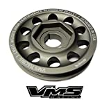99-00 VMS Racing Light Weight Billet Aluminum Crankshaft CRANK PULLEY for Honda Civic Si with the DOHC B16 engines B16A2 1999-2000