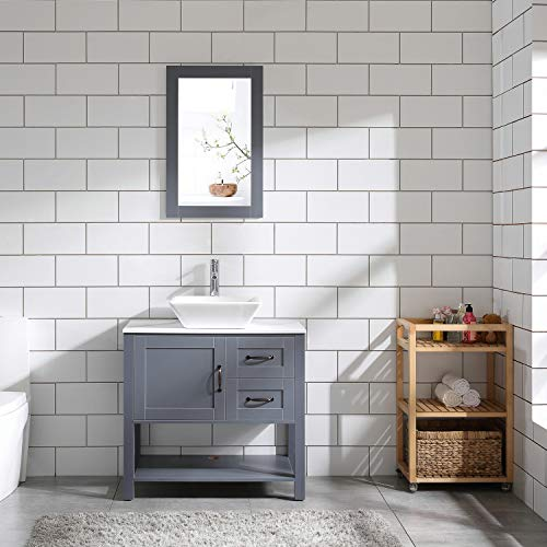 30 Grey Bathroom Vanity