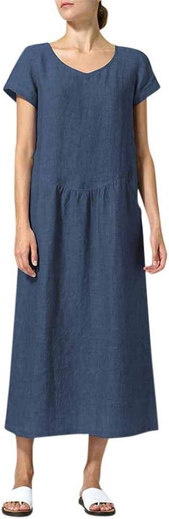 Transer- Cotton Linen Dress...