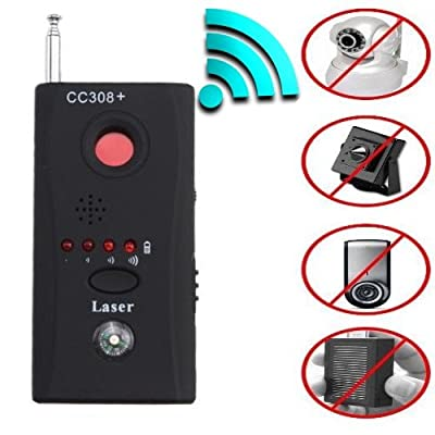 Rf Detector - Camera Detector - Bug Detector - Security Camera Detector - Anti-Spy Hidden Camera Laser - Spy Camera Detector - Hidden Camera Detector - Hidden Camera Laser Lens GSM Device Finder