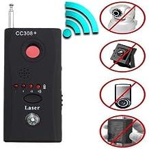 Rf Detector - Camera Detector - Bug Detector - Security Camera Detector - Anti-Spy Hidden Camera Laser - Spy Camera Detector - Hidden Camera Detector - Hidden Camera Laser Lens GSM Device Finder