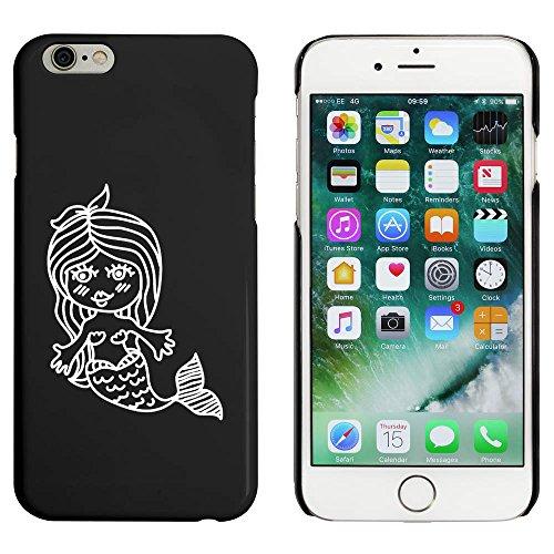 Schwarz 'Schöne Meerjungfrau' Hülle für iPhone 6 u. 6s (MC00087310)