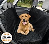 dog barrier ford escape - Big Pet car seat cover for dogs by YoGi Prime Heavy Duty Dog Hammock Waterproof backseat Covers, Pets Seat protectors for cars Trucks SUV XL truck bench back seats covers for Large Dogs universal fit