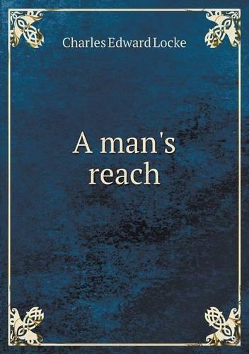 Read Online A man's reach PDF