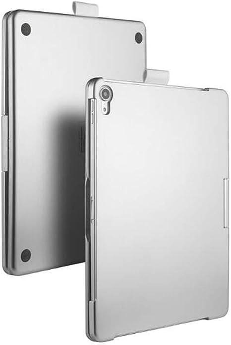 WLWLEO para iPad Pro11 Keyboard Case Estuche de Teclado retroiluminado Bluetooth inalámbrico Giratorio de 360 Grados con Auto Sleep/Wake Funda Protectora,Gris: Amazon.es: Deportes y aire libre