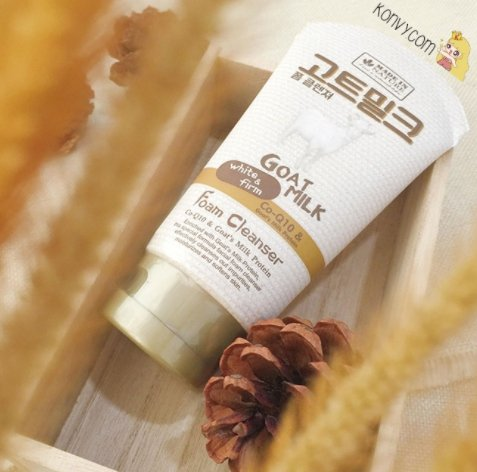 Beauty Buffet Made In Nature GOAT MILK white & Firm Foam Cleanser plus Co-Q10 Protein 100 ml by LITTLE BEE