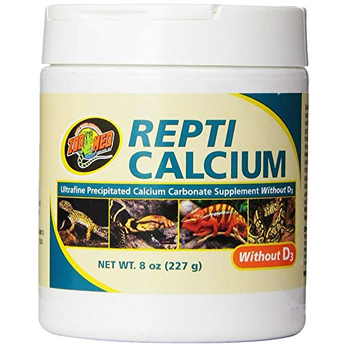 (Zoo Med Reptile Calcium without Vitamin D3, 8-Ounce)