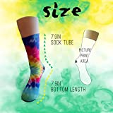 Horton Hears A Who Crazy Funny Colorful Novelty Graphic Basketball Crew Tube Socks