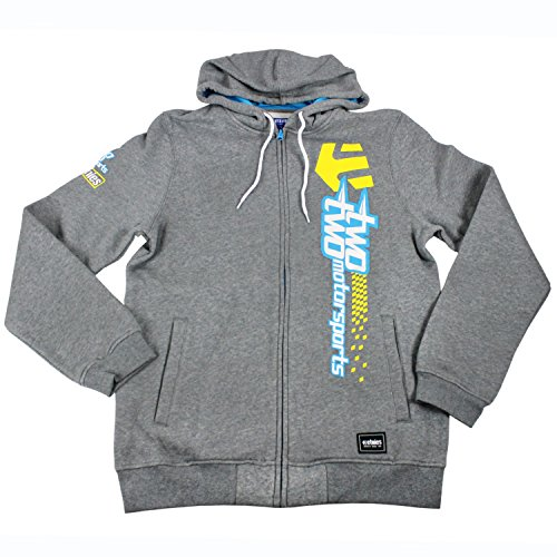 Etnies Skateboard Shoes Zip Fleece Hoody Two Two Motorsports Kick Off Size XL (Etnies Mens Sweatshirt)