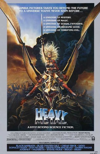 Heavy Metal POSTER Movie (27 x 40 Inches - 69cm x 102cm) (1981) (Style D)