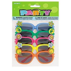 Novelty Sunglasses, 5ct