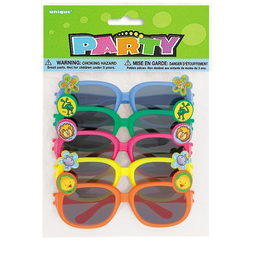 Novelty Sunglasses, 5ct - With Models Sunglasses