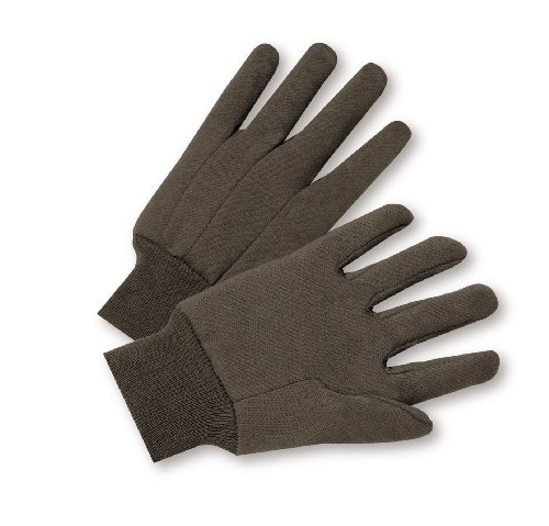 West Chester 750 Cotton Polyester Glove, Knit Wrist Cuff, 9.75