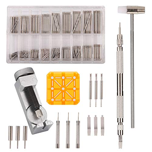 (376pcs Watch Link Remover Kit - Watch Band Spring Bar Tool Set with Watch Pins for Watch Repair and Watch Band Replacement)