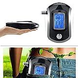 TPSKY Alcohol Tester Professional Digital Breathalyzer Breath Analyzer with LCD