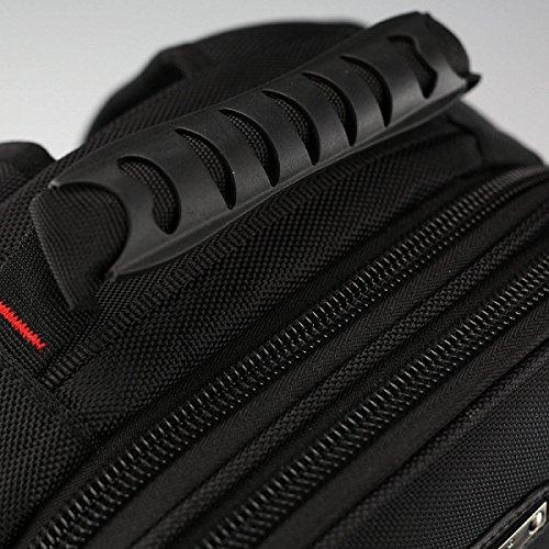 12 Laptop gray Layer 45cm Men Wang Waterproof Large 31 Shoulder Black Multi Bag Capacity vwE6xx7Fqn