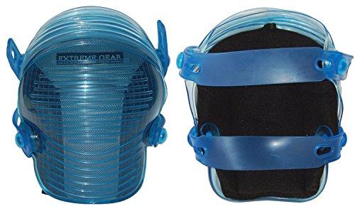 Rubber Non Skid Knee Pads (Bucket Boss 97000 Extreme Gel Flexible Kneepads, Concrete)