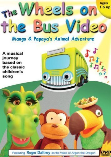The Wheels on the Bus - Mango and Papaya's Animal Adventure [Import anglais]