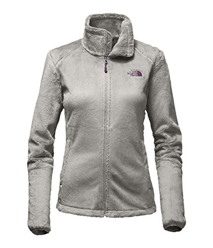 North Face Women's Osito 2 Jacket Metallic Silver/Blackbe...