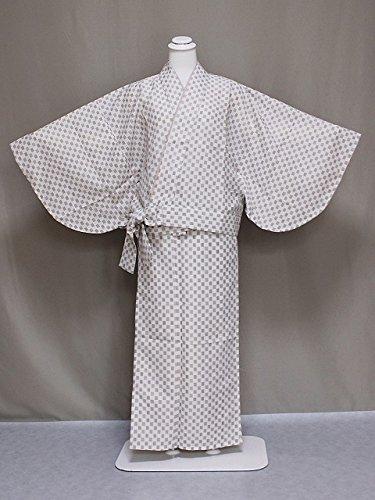 紗の二部式着物 夏のきもの 洗える紗の着物 夏用の二部式きもの 仕立上がり夏用二部式 Lサイズ C0563-15L
