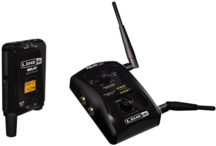 Line 6 Relay G50 Wireless Guitar System: Wired Tone, Wireless Freedom: Line 6: Musical Instruments