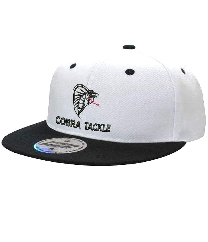 Amazon.com  Cobra Tackle Cap - Flat Peak  Sports   Outdoors 45f19e2b8bf
