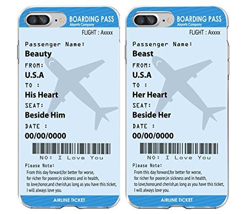 Boarding tickets Boyfriend Girlfriend Matching product image